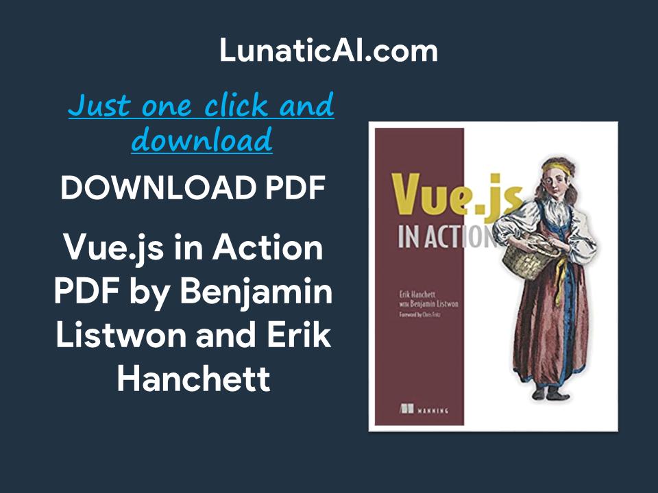 Vue.js in Action PDF