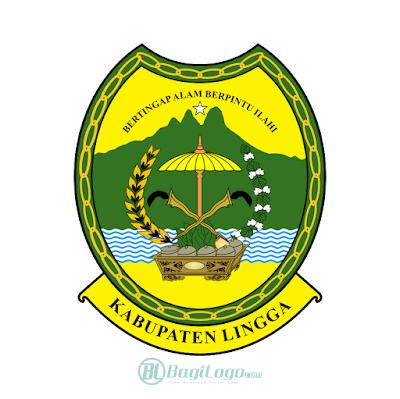 Kabupaten Lingga Logo Vector