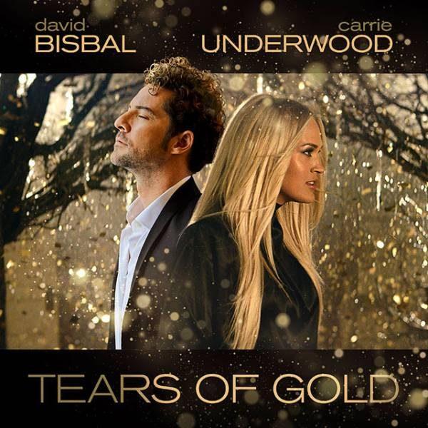 David Bisbal junto a Carrie Underwood en el single 'Tears of Gold'