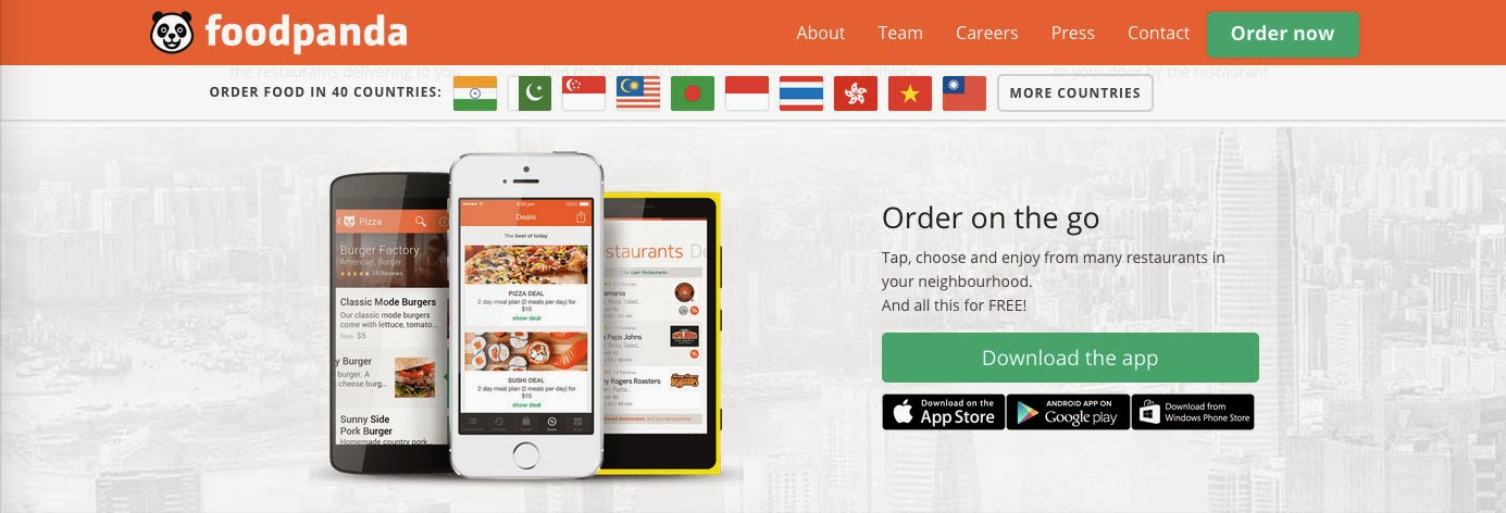 Flavors Of My Plate: FoodPanda India: Online Food Ordering Made Easy
