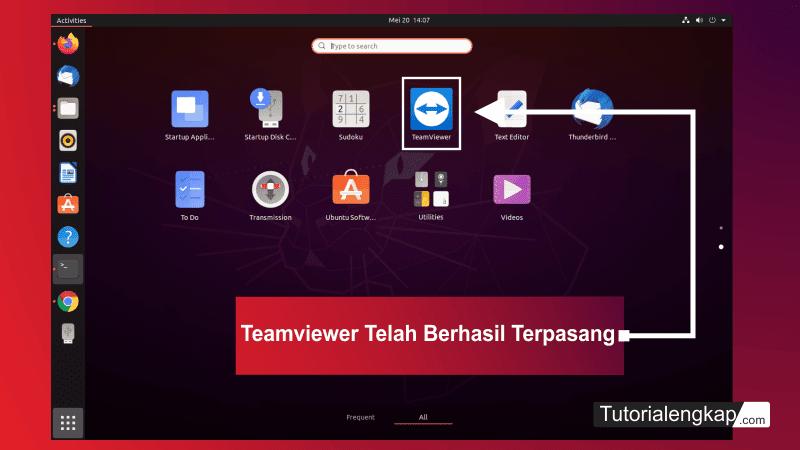 tutorialengkap 8 cara install Teamviewer pada linux ubuntu versi terbaru