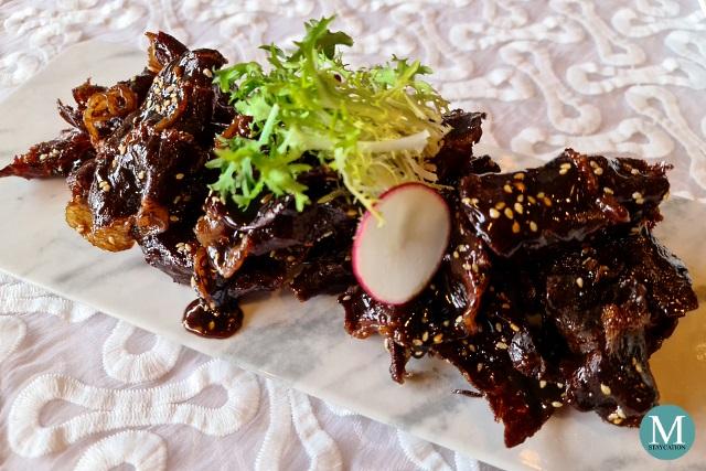 Fried Crispy Beef at Summer Palace at Edsa Shangri-La, Manila