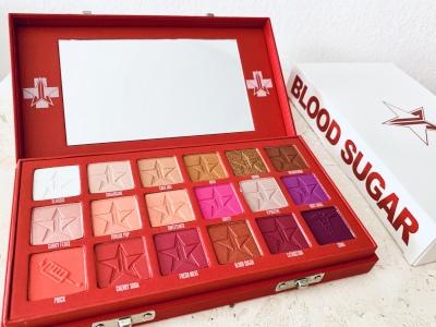 Jeffree Star Cosmetics: Blood-Sugar-Lidschattenpalette