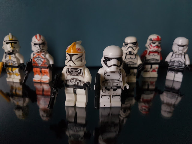 stormtroopers, clonetroopers lego Star wars