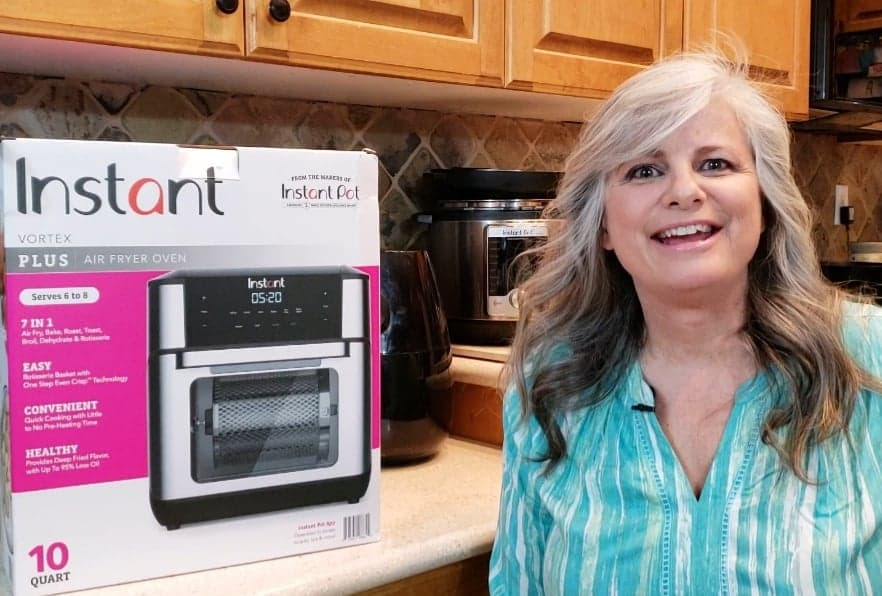 Frieda Loves Bread Instant Pot Vortex Air Fryer Unboxing Test