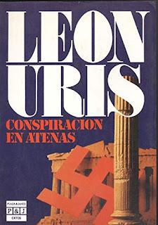"""""""Conspiración en Atenas"""", León Uris 1955, thriller bélico"""