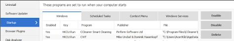 Aktuelle KW im Windows 10 - Aktivierung im Autostart