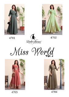 Ladies Flavour Miss world vol 3 gown buy wholesale