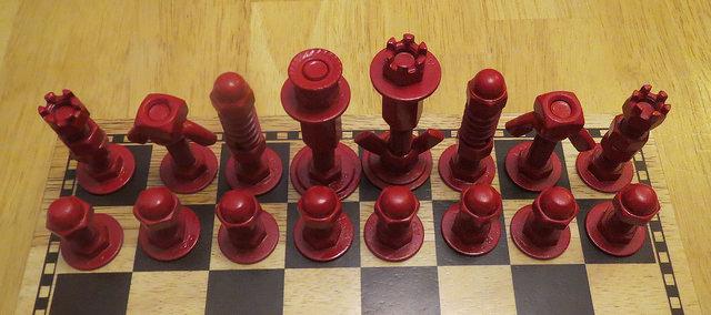 el emeği ile somun satranç