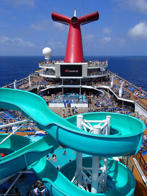 Carnival Victory pool slide