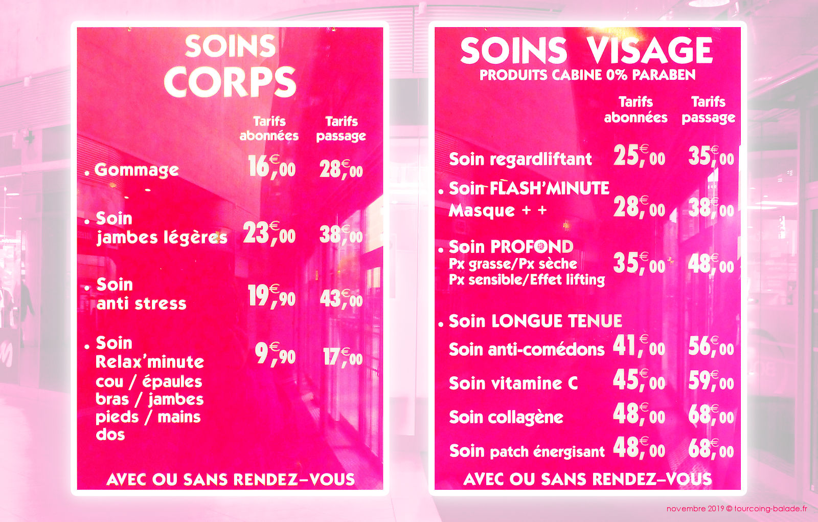 Body minute Tourcoing - Soins et Tarifs 2019