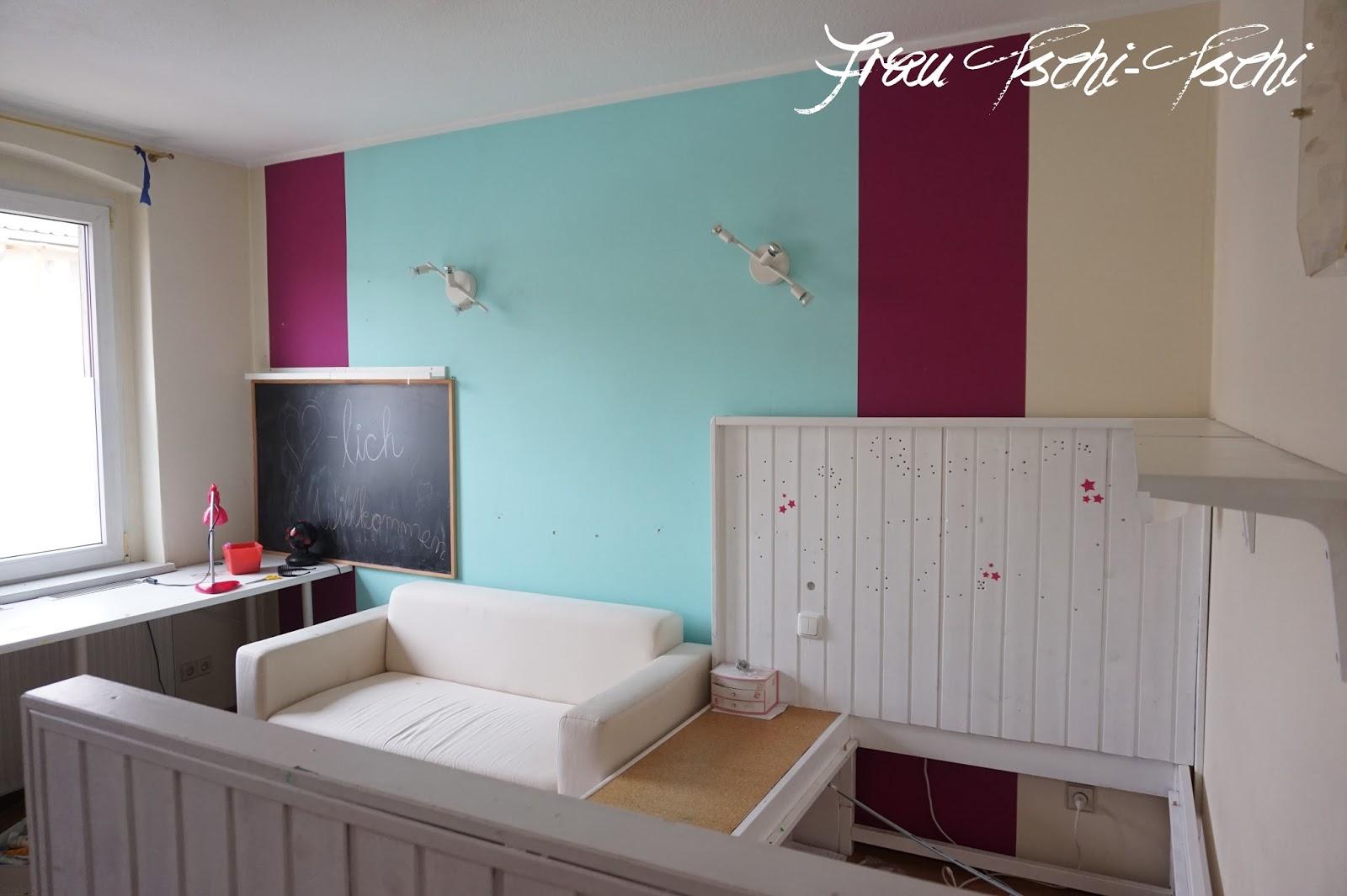 frau tschi tschi aus kinderzimmer wird teenager chillout lounge. Black Bedroom Furniture Sets. Home Design Ideas