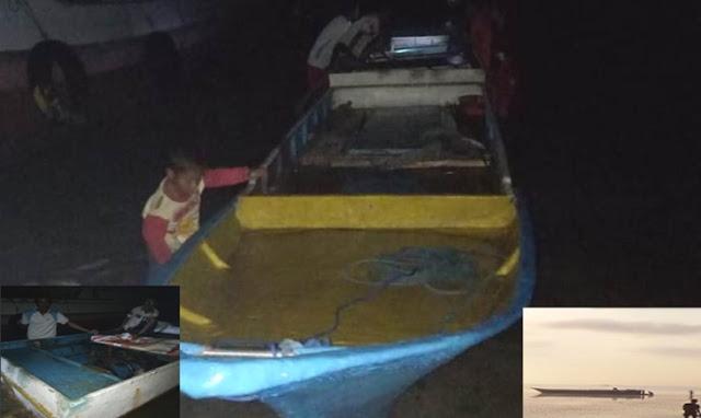 Nelayan Pulau Jinato, Temukan Perahu Fiber Terapung Tanpa Awak