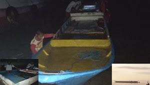 Nelayan Pulau Jinato Temukan Perahu Fiber Terapung Tanpa Awak Di Kawasan Takabonerate