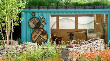 The New Wild Garden, jardin con diseño ecológico en Chelsea