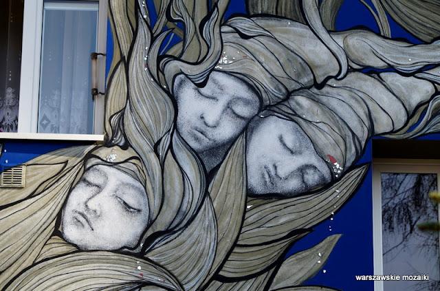 Warszawa Warsaw Praga Południe street art Mona Tusz mural siewca snów murale warszawskie muralart