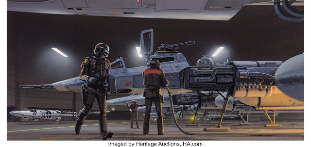 Ralph McQuarrie rare art auction