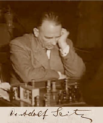 Elajedrecista Dr. Jakob Adolf Seitz