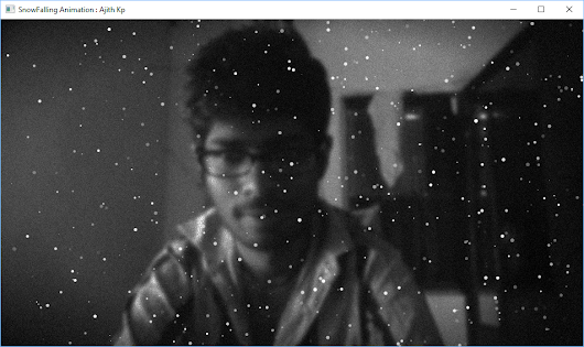 Snow Falling Animation in JavaFX