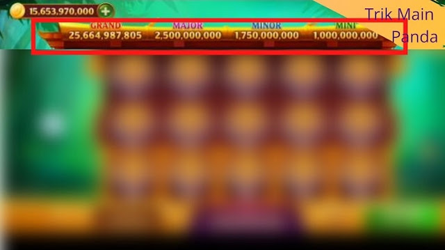 Jackpot di Panda Higgs Domino Island
