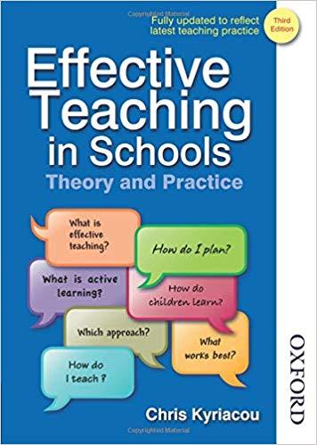 Effective Teaching in Schools