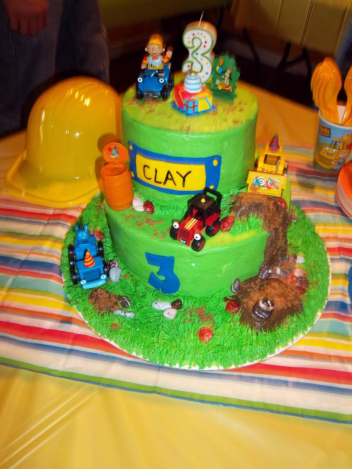 Amazing Cakes By Carrie Bob The Builder Funny Birthday Cards Online Elaedamsfinfo