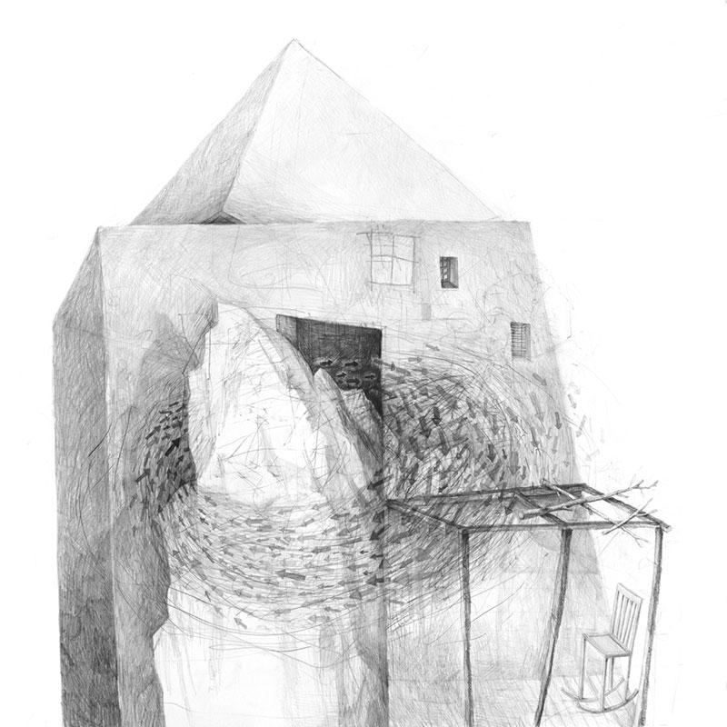 Stefan-Zsaitsits-02 Houses: Drawings by Stefan Zsaitsits Design