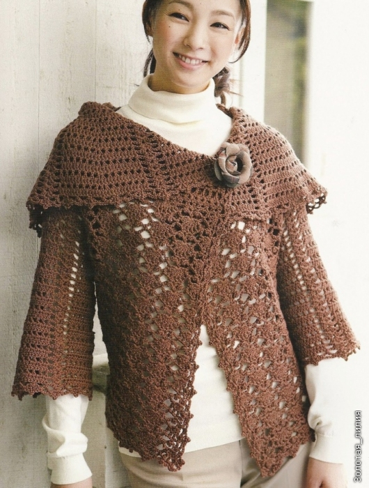 Ben noto Cardigan all'uncinetto - Crochet bolero | DODA CROCHET SZ45