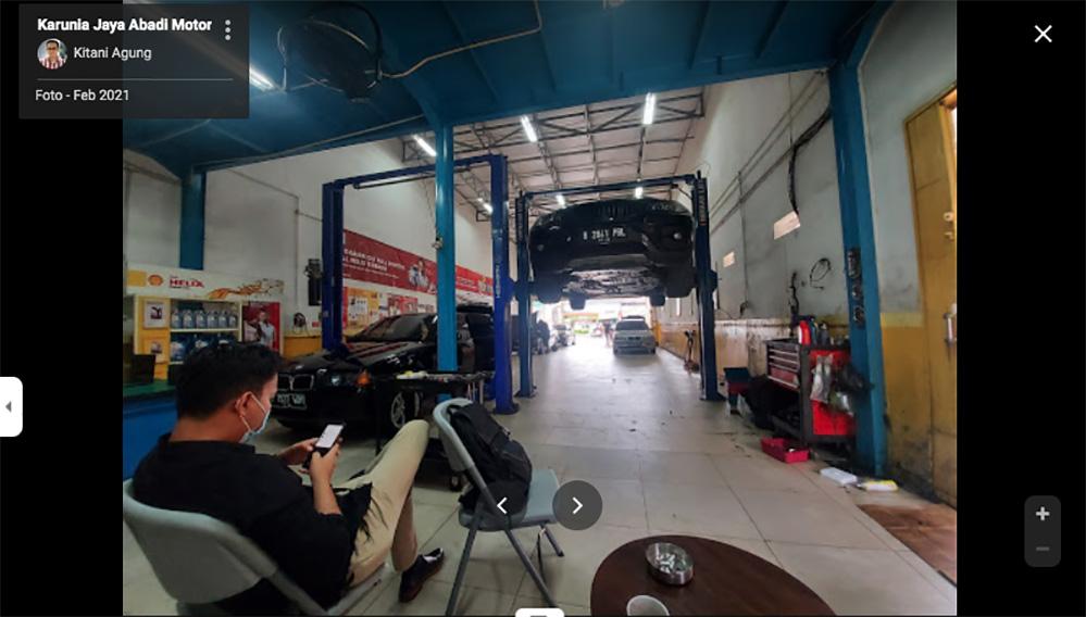 Bengkel Spesialis BMW Jakarta - Karunia Jaya Abadi Motor