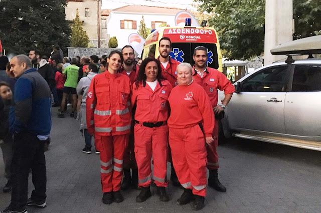Άθλος Μαινάλου: Υγειονομική κάλυψη από το Σώμα Εθελοντών Σαμαρειτών, Διασωστών και Ναυαγοσωστών Ναυπλίου