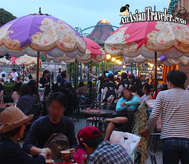 Restaurant at Tokyo DisneySea