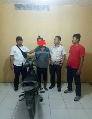 Pencuri Sepeda Motor Ditangkap Polsek Aek Natas