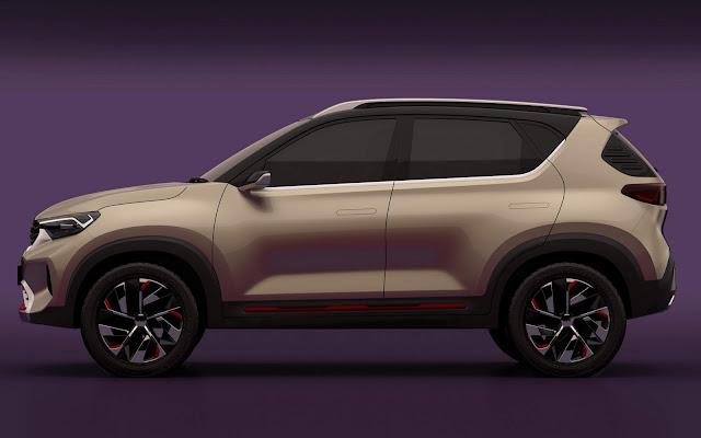 Novo Kia Sonet: SUV compacto revelado na Índia