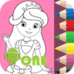 Coloring Princesses for Children
