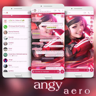 Music On Girls Theme For YOWhatsApp & Fouad WhatsApp By Angyfenix