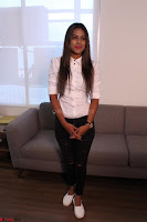 Nia Sharma at an itnerview for For Web Series Twisted 03.JPG