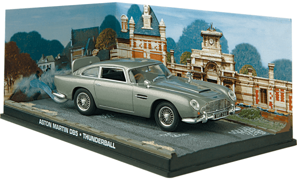 Aston Martin DB5 - Thunderball  1:43 colección james bond