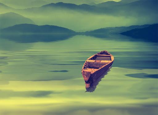A parábola do barco vazio