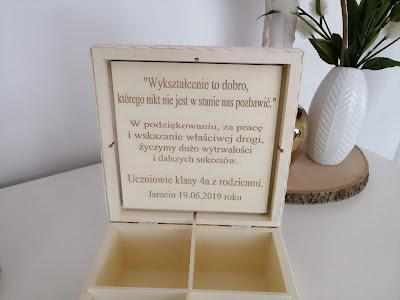 herbaciarka dla nauczyciela