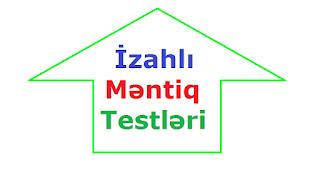 Məntiq Testləri Izahlari Ilə Biliklidən Təhsil Kompasi