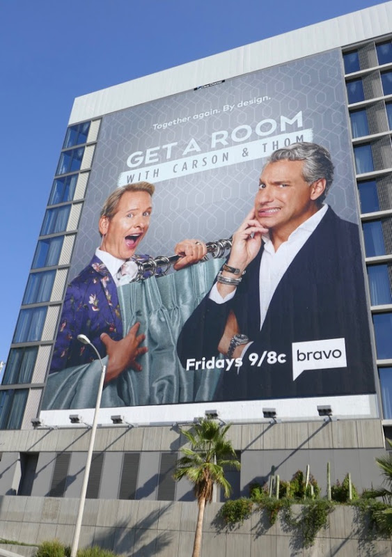 Giant Get a Room series launch billboard