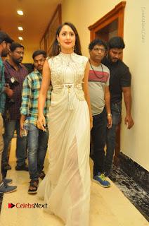 Actress Pragya Jaiswal Stills in Beautiful White Dress at turodu Audio Launch  0073.JPG
