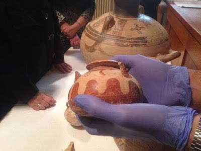 Επαναπατρισμός αρχαιοτήτων που διακινήθηκαν παράνομα