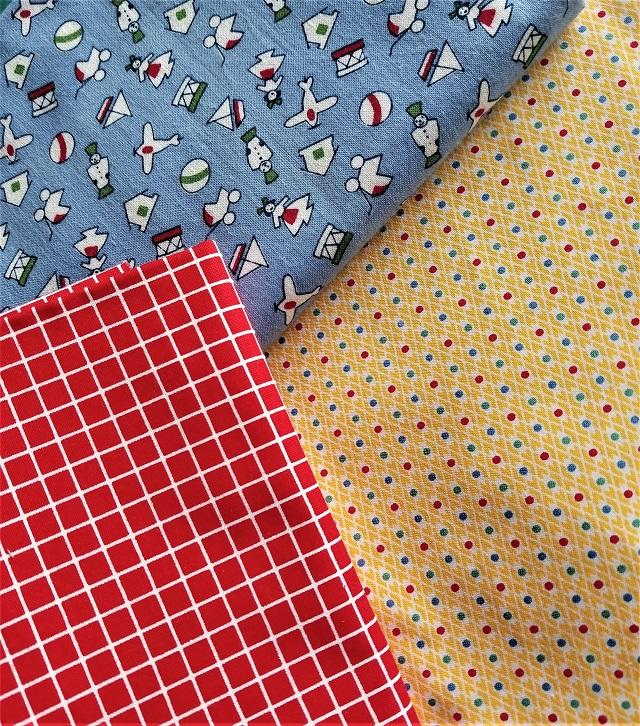 X-block fabric pull