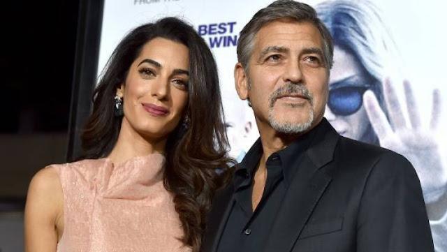 النجم 'جورج كلوني' وزوجته اللبنانية يعيشان في غرف منفصلة بناء على رغبة زوجته لهذا السبب