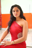 Actress Zahida Sam Latest Stills in Red Long Dress at Badragiri Movie Opening .COM 0171.JPG
