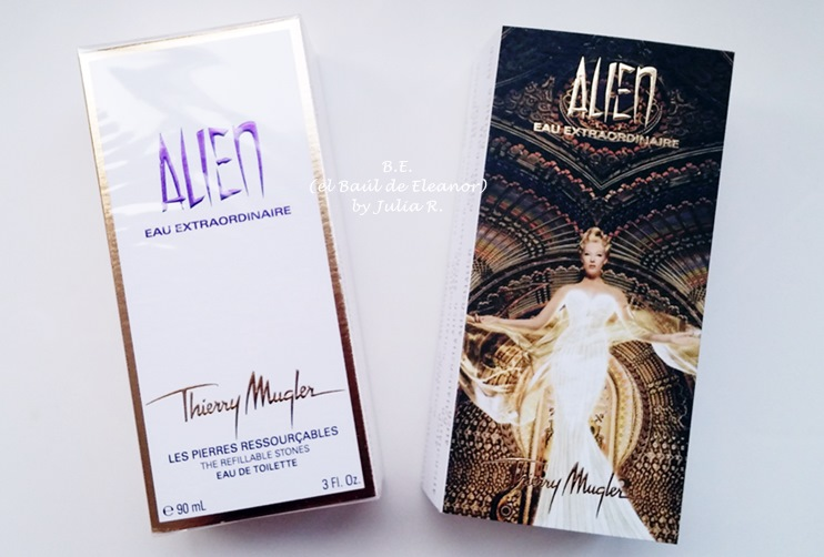 Alien Eau Extraordinaire de Thierry Mugler packaging