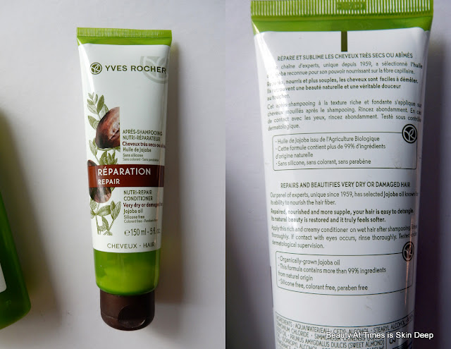 Yves Rocher Nutri-Repair Treatment Shampoo Conditioner
