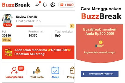 Cara Menggunakan Aplikasi Buzzbreak Penghasil Uang Review Teknologi Sekarang