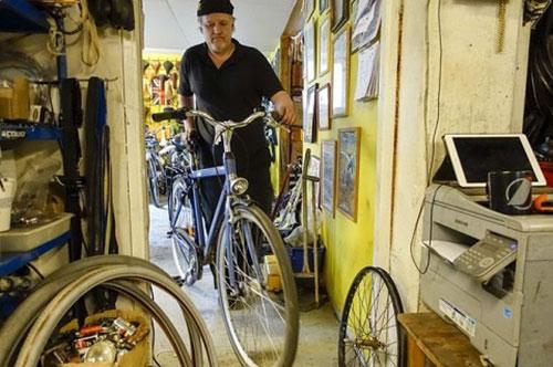 Reparación de bicicleta
